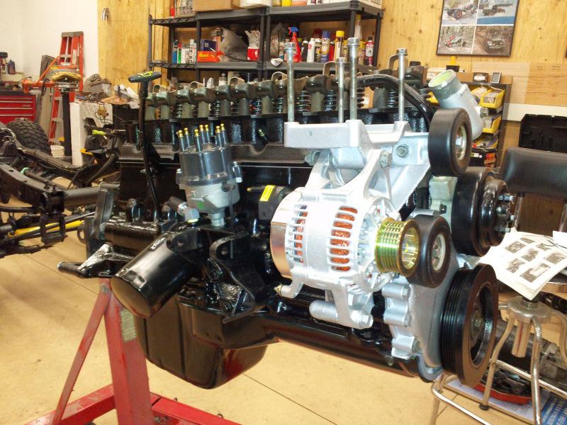 Yj Enginemostlyassembled