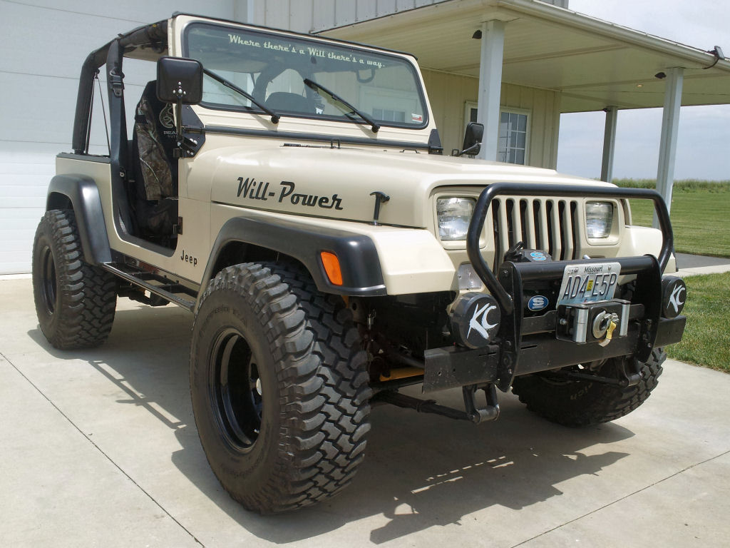 1993 jeep wrangler yj tires and axles. Black Bedroom Furniture Sets. Home Design Ideas