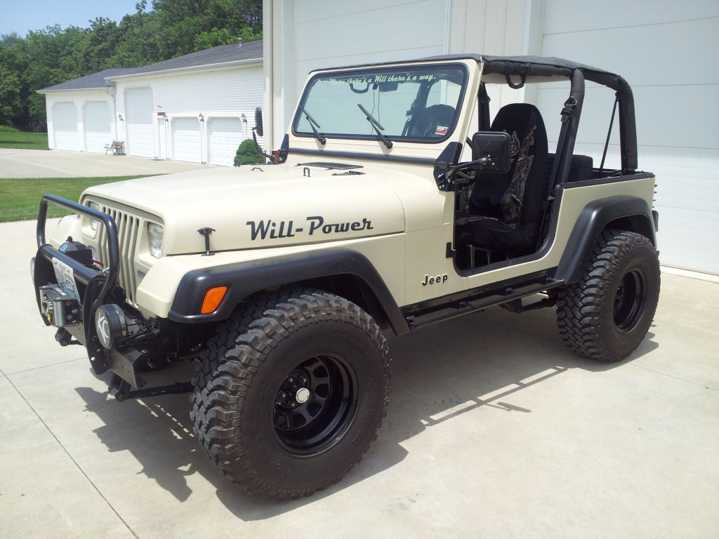 1993 Jeep Wrangler Yj Tires And Axles